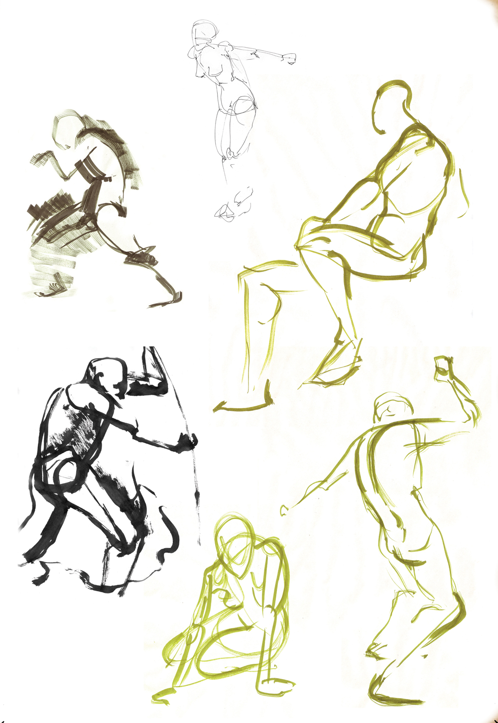 Life Drawing Ink